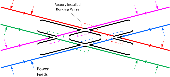 Wiring Crossings - DCCWiki | True Track Dcc Crossover Wiring |  | DCCWiki